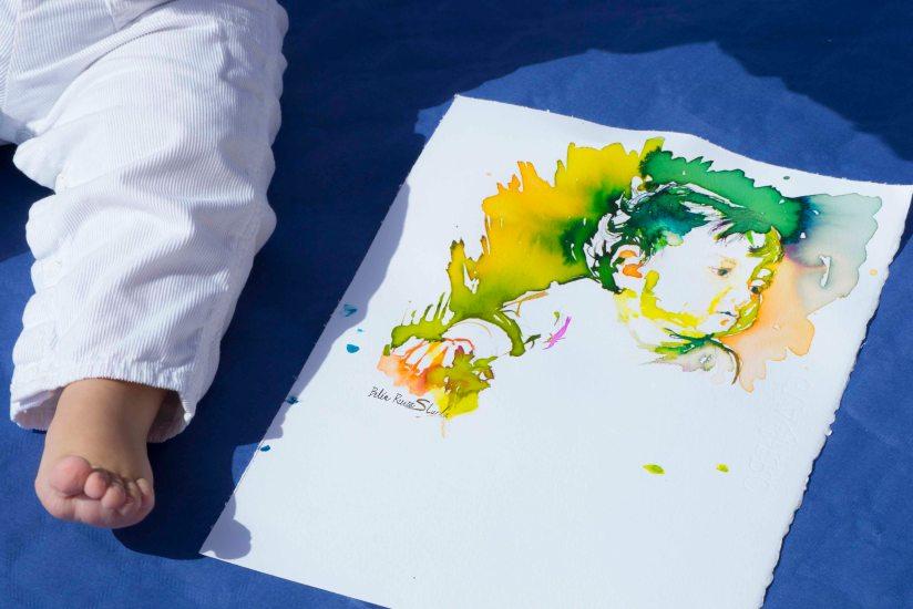 boceto bebe tinta1