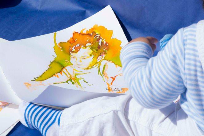 boceto bebe tinta2
