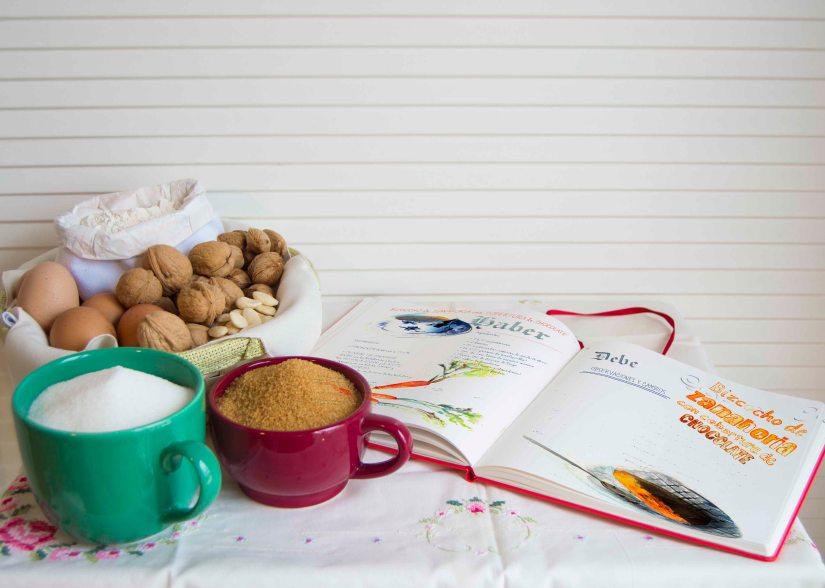 cuadernos creativos bizcocho de zanahoria