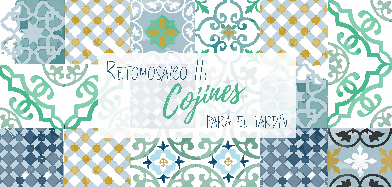 RETOMOSAICO II COJINES PARA EL JARDN LIBRID
