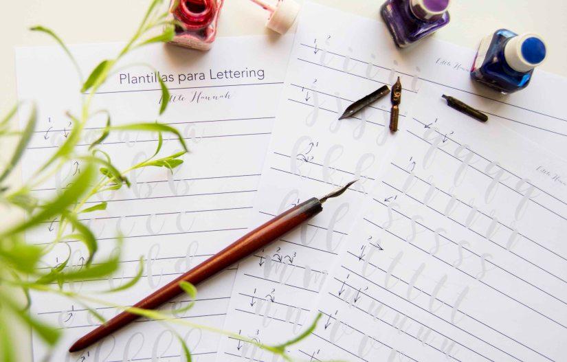 plantillalettering